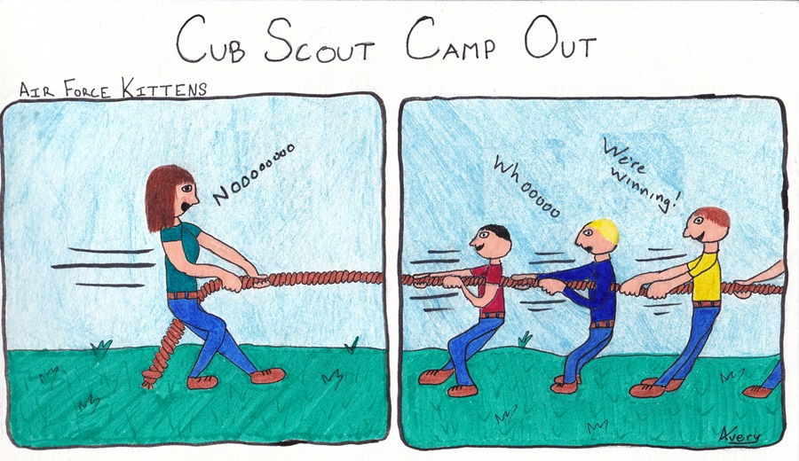 Cub Scout Camp Out